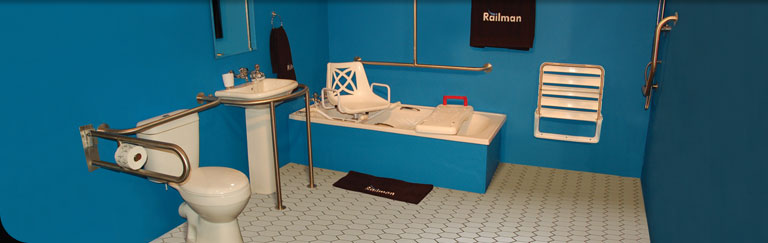 Railman Grab rails - Manufacturer and Supplier of Grab rails and Mobility Equipment in South Africa
